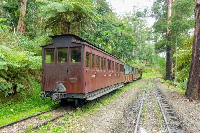 墨爾本普芬比利鐵道 Puffing Billy Railway, Melbourne