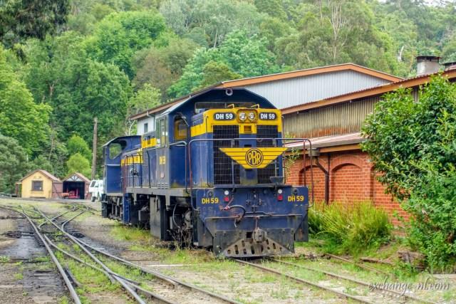 墨爾本普芬比利鐵道 Puffing Billy Railway, Melbourne