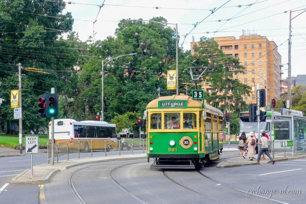 墨爾本懷舊電車 Melbourne vintage tram