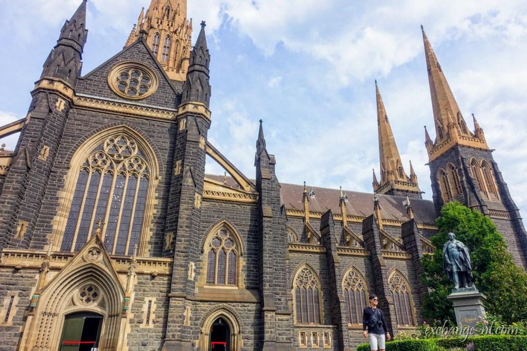 墨爾本聖派翠克大教堂(聖巴特利爵主教座堂)St Patrick's Cathedral, Melbourne
