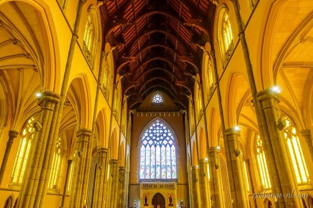 墨爾本聖派翠克大教堂(聖巴特利爵主教座堂)內部 Inside of St Patrick's Cathedral, Melbourne