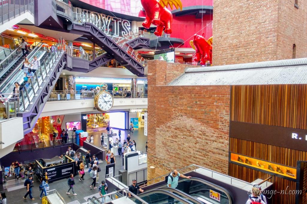 墨爾本中央購物中心紅磚子彈工廠 Coop's Shot Tower, Melbourne Central