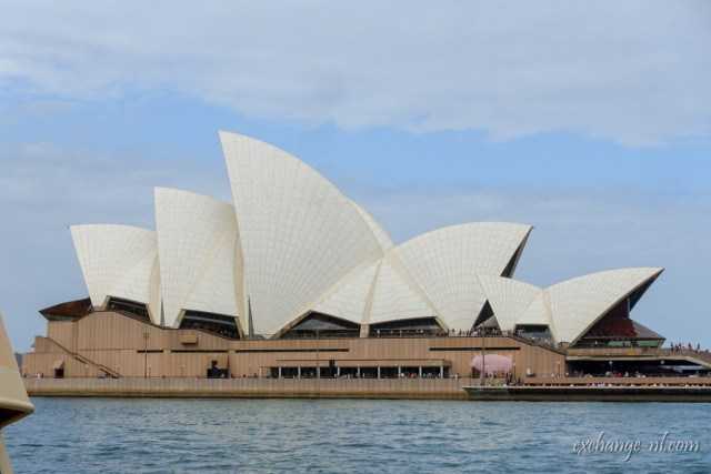 悉尼歌劇院側面 Sydney Opera House Side View