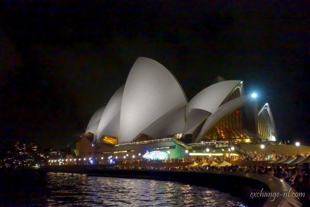 悉尼歌劇院夜景 Sydney Opera House Night View