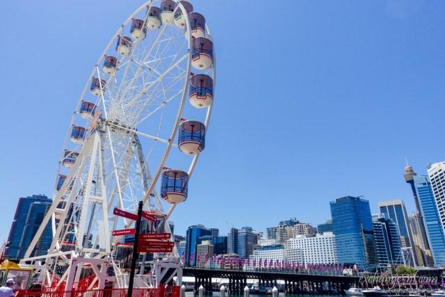 悉尼達令港(情人港)摩天輪 Ferris Wheel in Darling Harbour, Sydney