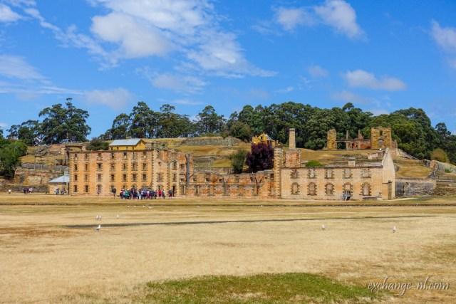 塔斯曼尼亞亞瑟港監獄遺迹 Penitentiary Ruins at Port Arthur, Tasmania