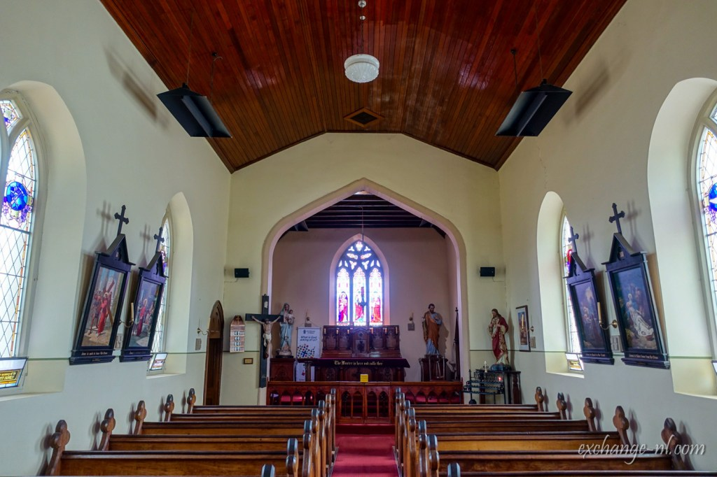 塔斯曼尼亞列治文小鎮聖約翰天主教堂內部 Inside of St John the Evangelist Catholic Church, Richmond, Tasmania