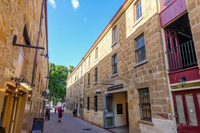 塔斯曼尼亞莎拉曼卡廣場 Salamanca Place, Hobart, Tasmania
