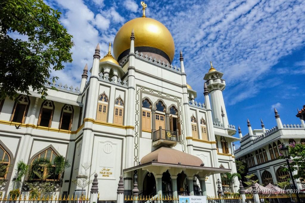 新加坡甘榜格南蘇丹清真寺 Masjid Sultan, Kampong Glam, Singapore