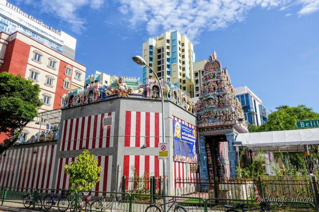新加坡小印度維拉馬卡里拉曼廟 Sri Veeramakaliamman Temple, Little India, Singapore