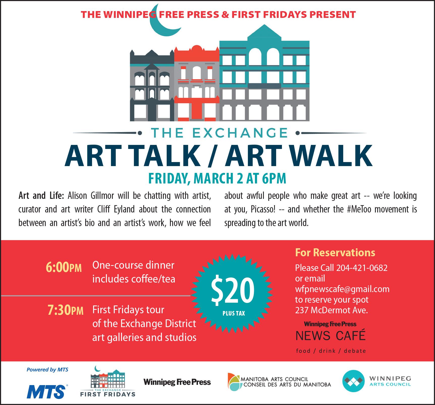 ART TALK/ART WALK: ART and LIFE - The Exchange District BIZ