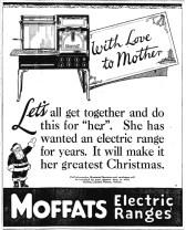 1923-12-05 - Winnipeg Tribune - Moffat Electric Range Ad