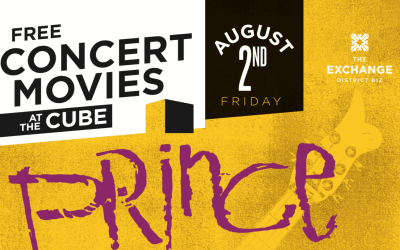 Prince Takes Over Old Market Square For Concert Movies At The Cube