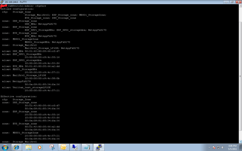 Useful Brocade SAN Switch Commands (1/3)