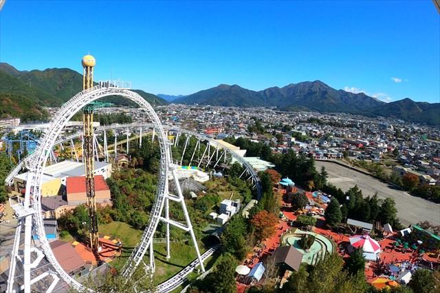 富士急ハイランドの観覧車からの眺め②