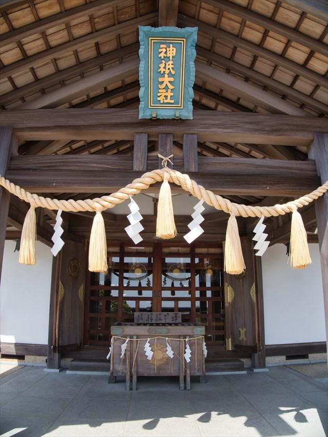 神祇大社の拝殿