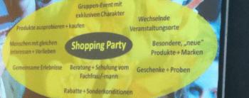 Shoppingparty