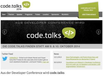 codetalks