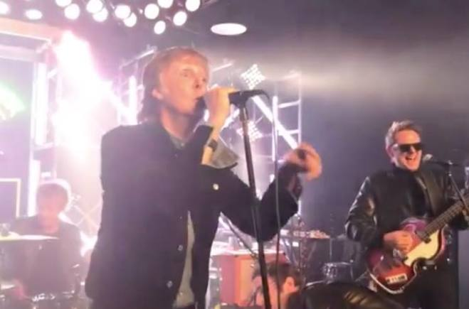 """Watch Paul McCartney Perform """"Helter Skelter"""" with Muse's Beatles Cover Band"""