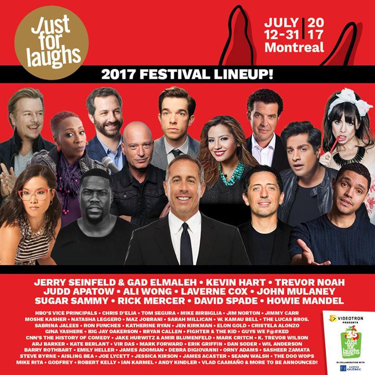 Just Laughs Cast 2017