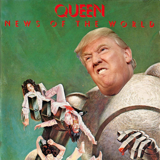 Queen's Brian May Does Not Approve of Donald Trump's Use of