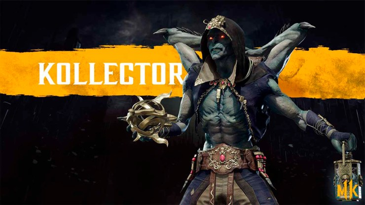 mortal kombat Kollector