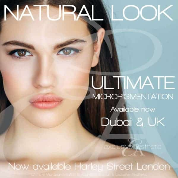 Natural Looking Semi Permanent Makeup Dubai