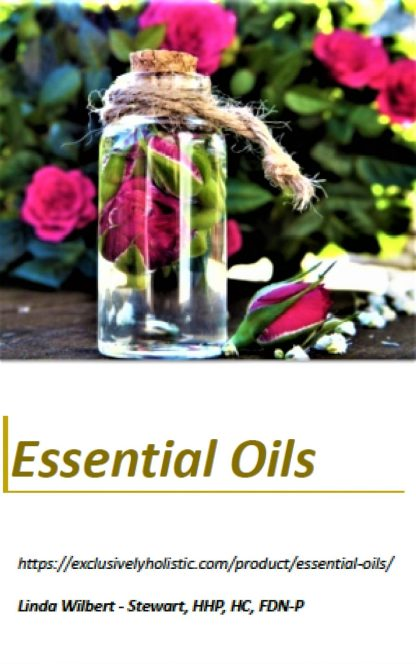 Essential Oil Ebook cover