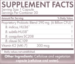 Serene Skin Ingredients