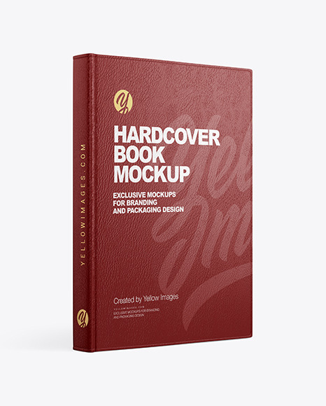 Download Free Hardcover Book Mockup Psd Yellowimages