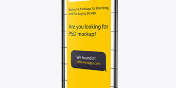 Download Mockup Spanduk Yellowimages