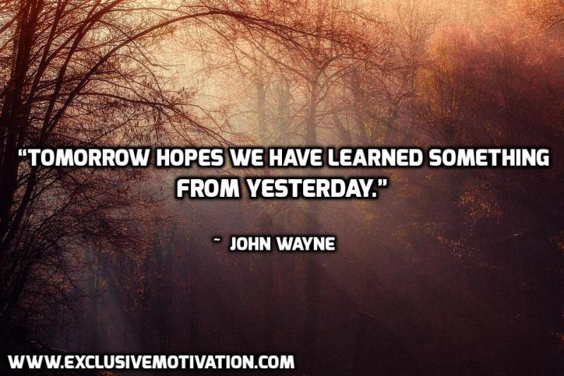 John Wayne Picture Quotes