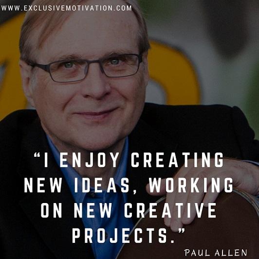 Paul Allen Quotes