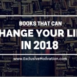 Books That Can Change Your Life in 2018