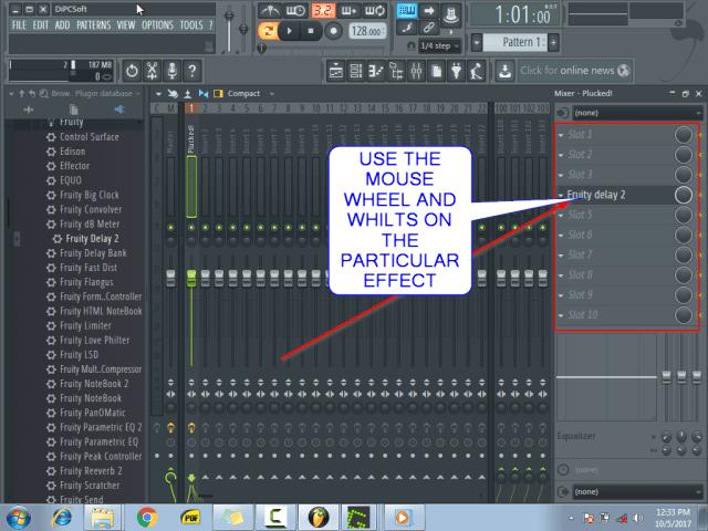 Using the mixer menu11