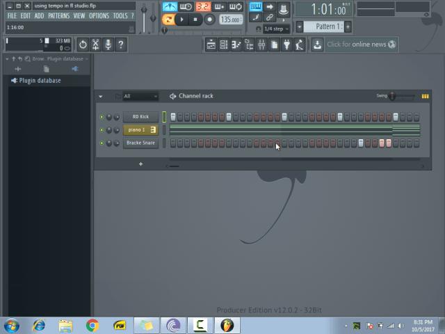 using tempo in fl studio1