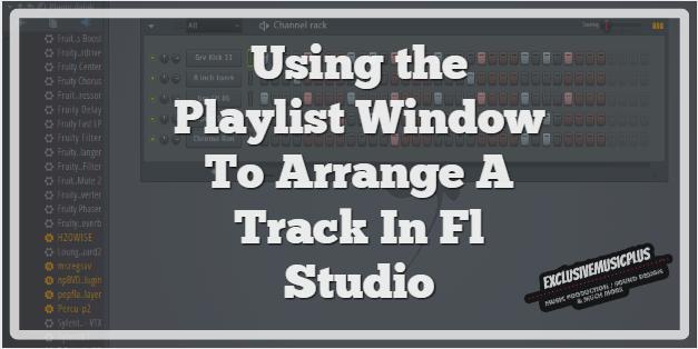 using the playlist window in fl studio featured image