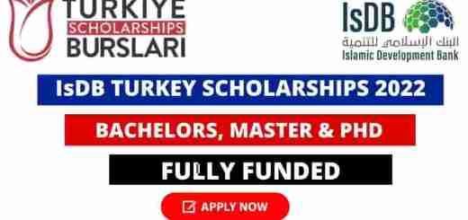 IsDB Turkiye Scholarships
