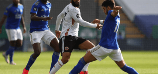 Leicester City Takes On Sheffield United