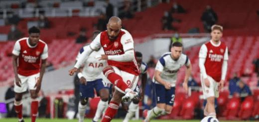 Alexandre Lacazette Taking A Penalty Kick