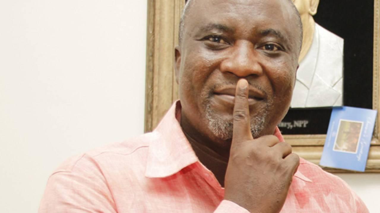 Hopeson Adorye , NPP Candidate, Kpone Katamanso