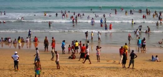 Dansoman beach