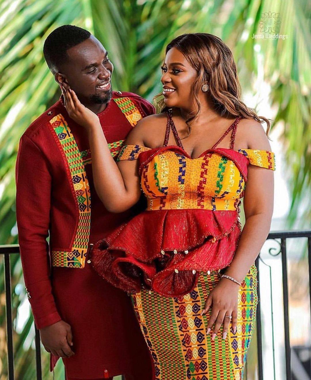 Joe Mettle Ghana's Gospel Singer and Wife