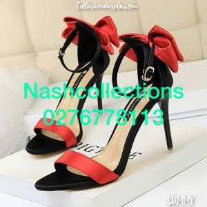 Women's High Heels shoe With Bow Tie