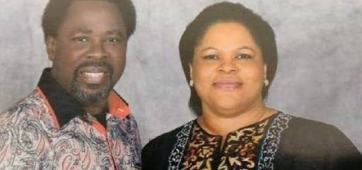 TB Joshua's wife said she found him in his chair, unconscious