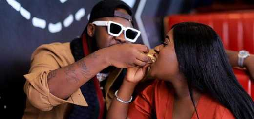 Medikal 'catching cruise' with his wife, Fella Makafui