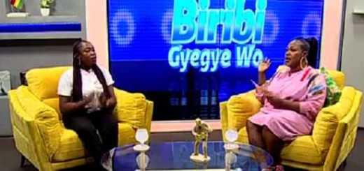 She made these revelations whiles on Onua TV's Bribi Gye Gye Wo show