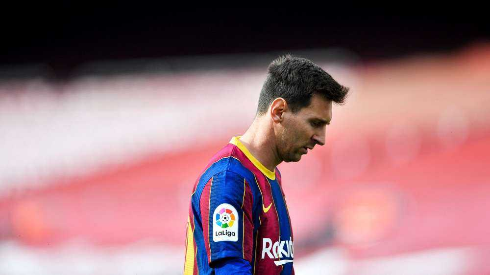 Barcelona Announce That Messi Will Leave The Club