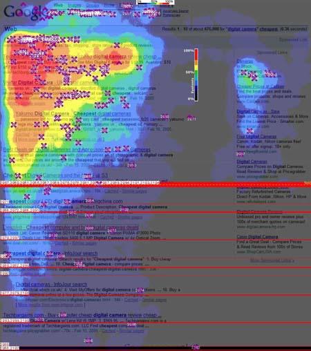 Mapa de calor Google