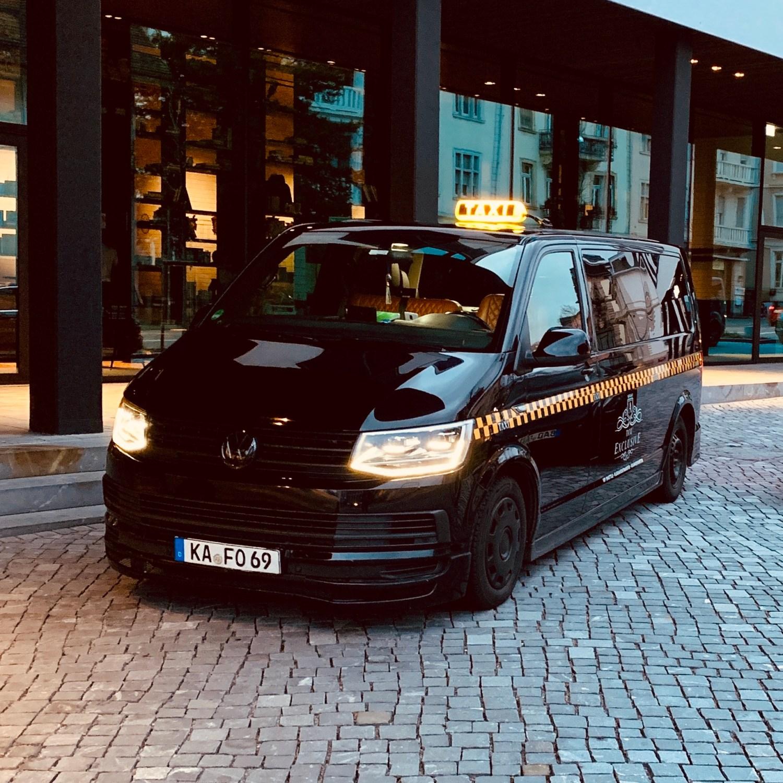 Großraumtaxi Karlsruhe bis 8 Personen